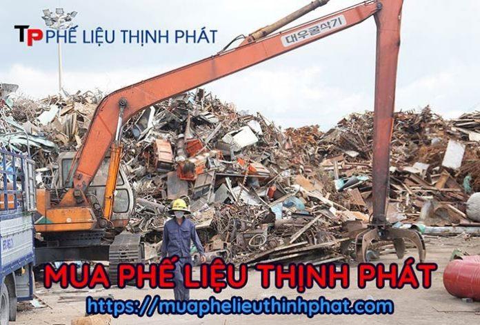 Thu mua phế liệu giá cao tại công ty thu mua phế liệu Thịnh Phát