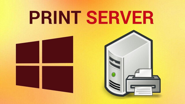 the print server is down. check the print server.