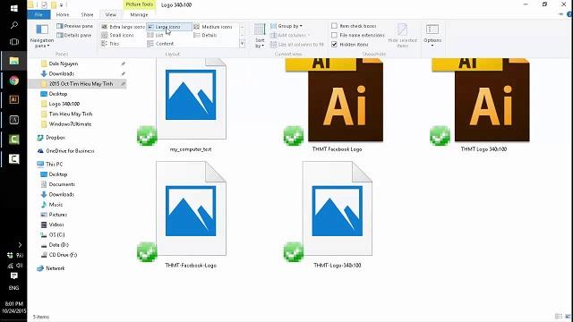 tại sao hình ảnh trong máy tính không hiện lên